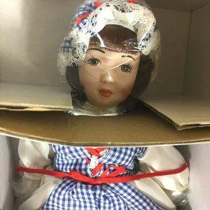 Danbury Mint Little Miss Muffet Doll